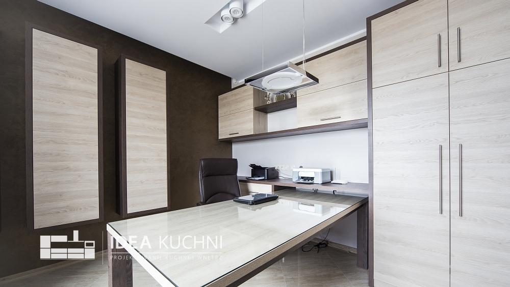 Projekt pojedynczego pomieszczenia - biura