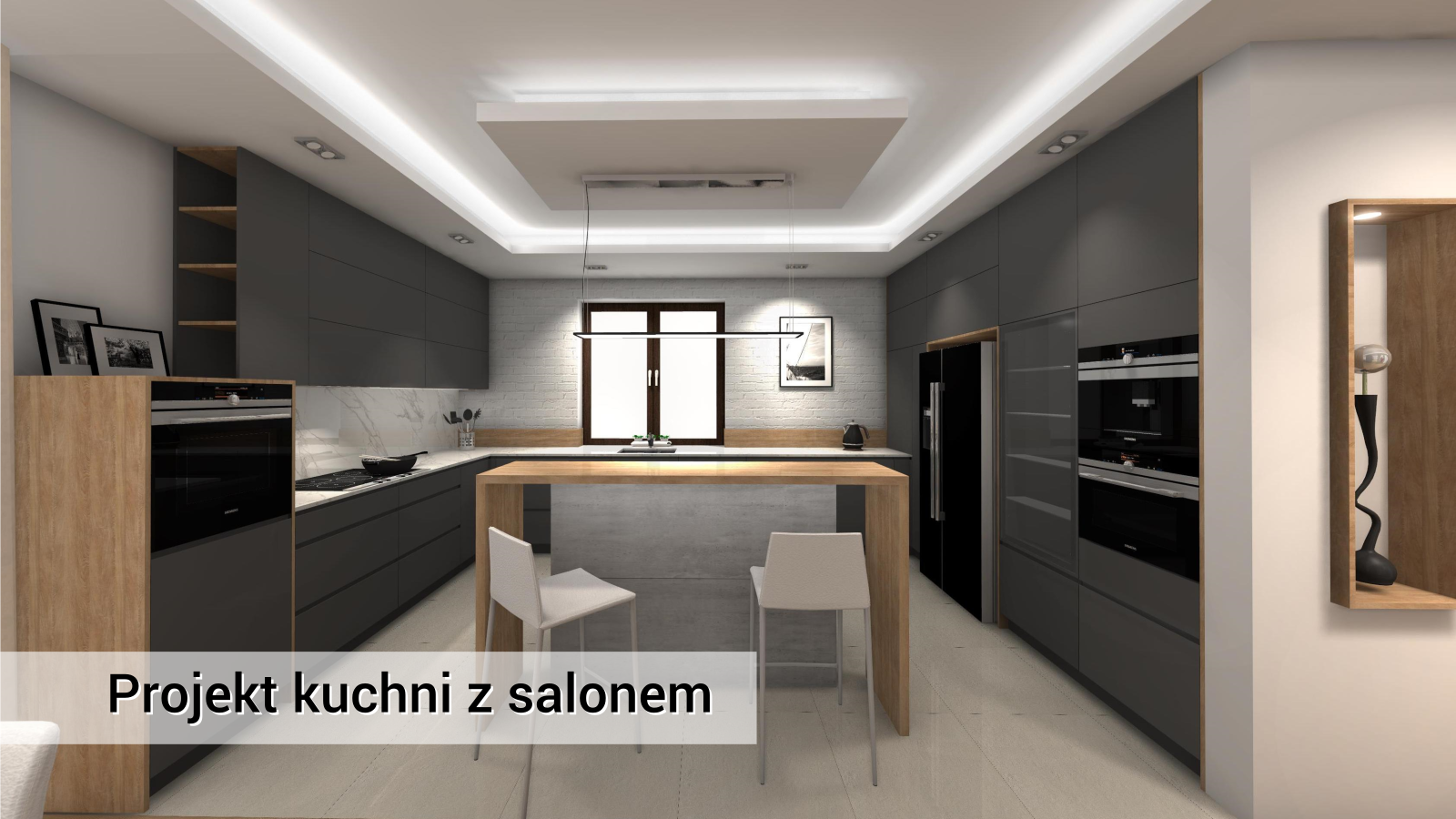 Kuchnia-i-salon-Chotomów-styl-nowoczesny-www.ideakuchni.pl