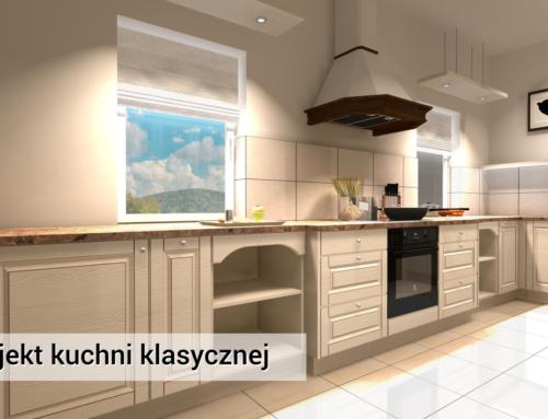 Kuchnia | Anastazew | Kuchnia Klasyczna | Kuchnia kremowa z drewna