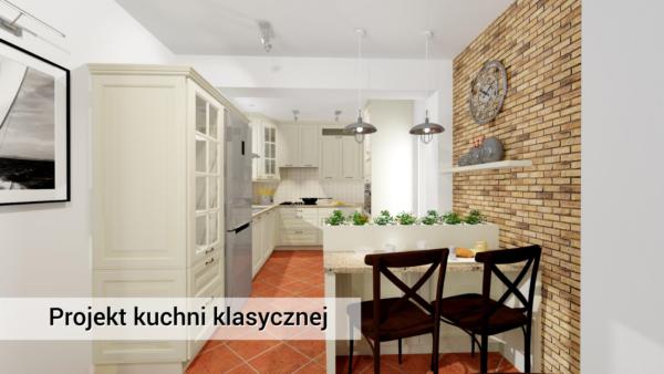 Kuchnia klasyczna Marki www.ideakuchni.pl