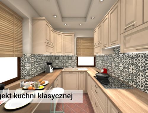 Kuchnia | Michałowice | Kuchnia Klasyczna | Kuchnia kremowa z mdf-u