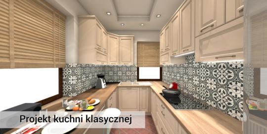 Klasyczna, modna i stylowa kuchnia Michałowice