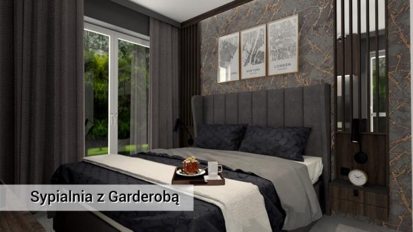Sypialnia-z-Garderobą-zielonki-meble-fornirowane