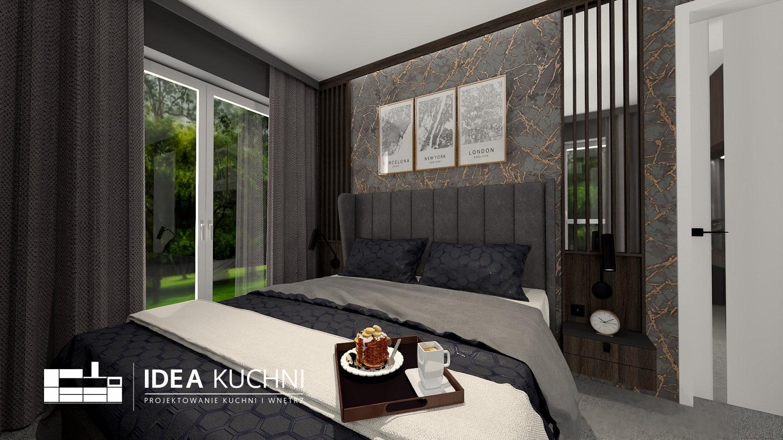 Sypialnia z Garderobą | Zielonki | Meble Fornirowane