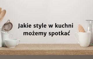 Style w kuchniach