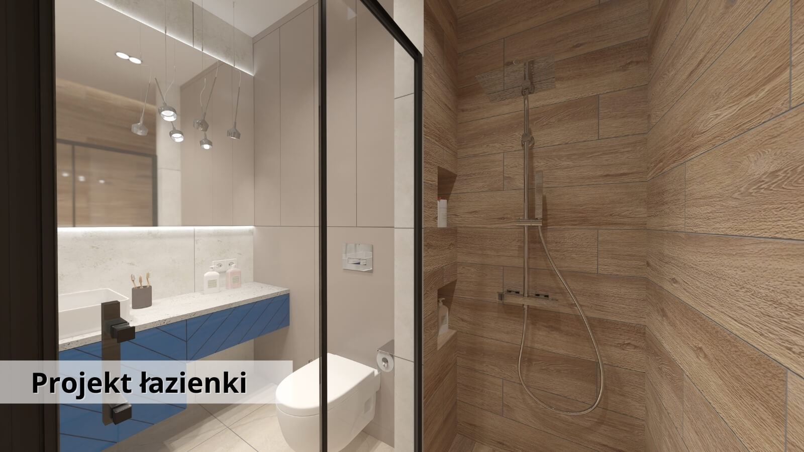 Kompleksowy projekt łazienki
