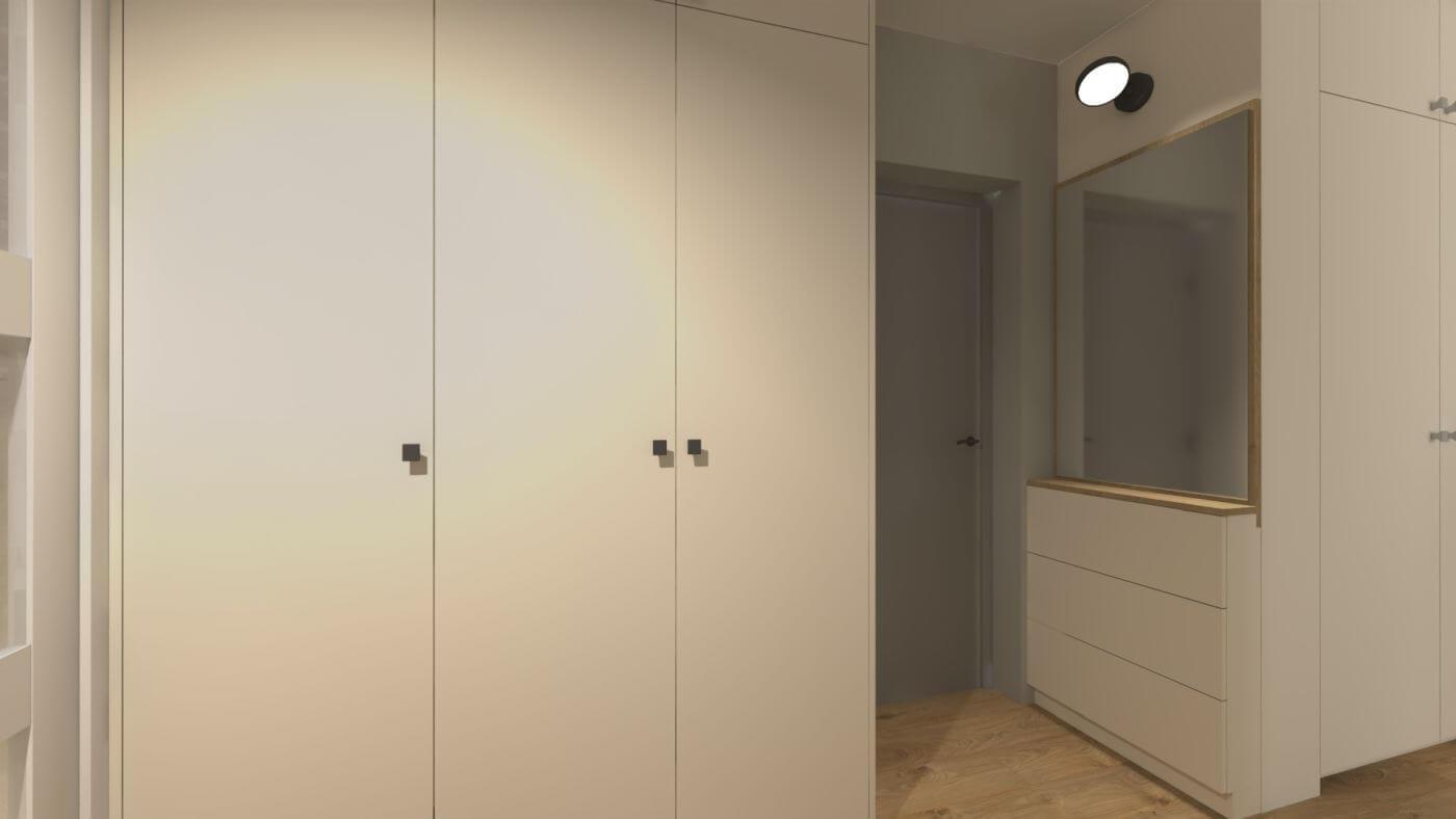 Kompleksowy projekt mieszkania - Warszawa