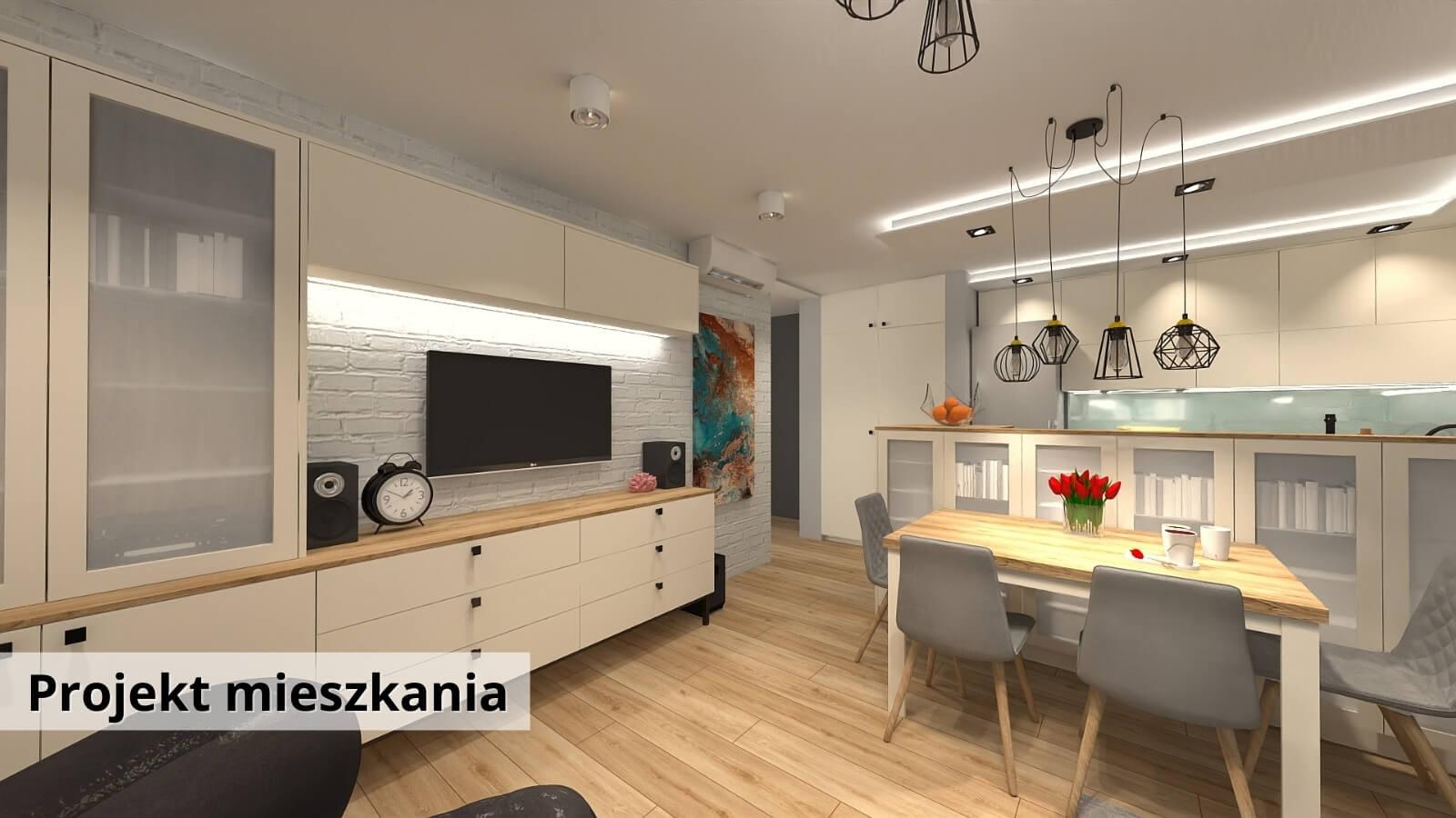 Aranżacja mieszkania Warszawa