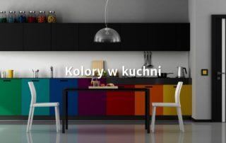 Kolory we wnętrzu kuchennym